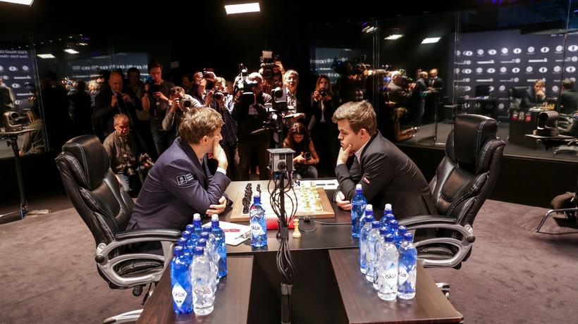 Carlsen Karjakin The Chess Olympiad Starts